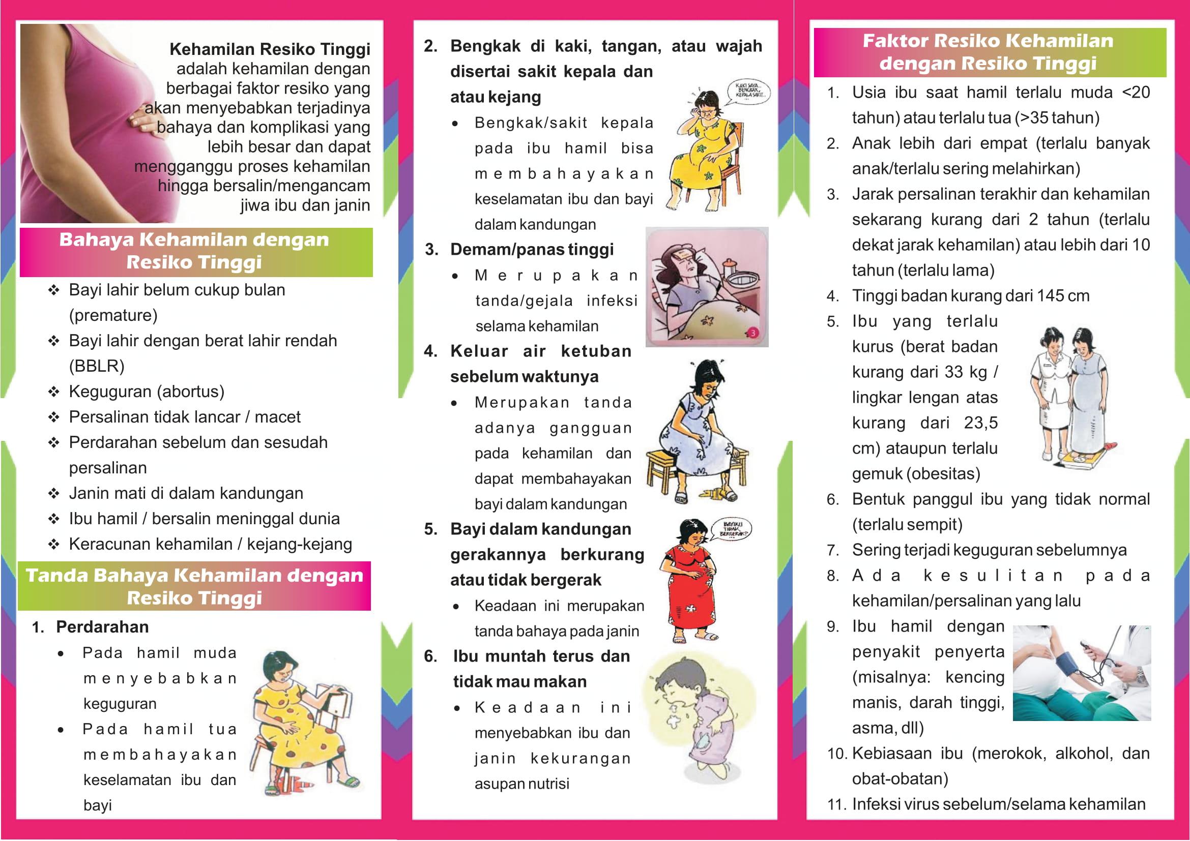 Leaflet Kesehatan Ibu Dan Anak Rsud Dr Darsono Pacitan